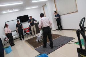 ビルクリ-ニング技能検定受検準備講習会